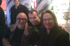 Bagshow 2012 avec Peter Erskine et John Good (DW)
