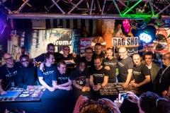 Bagshow 2015 - Equipe DW avec Thomas Pridgen